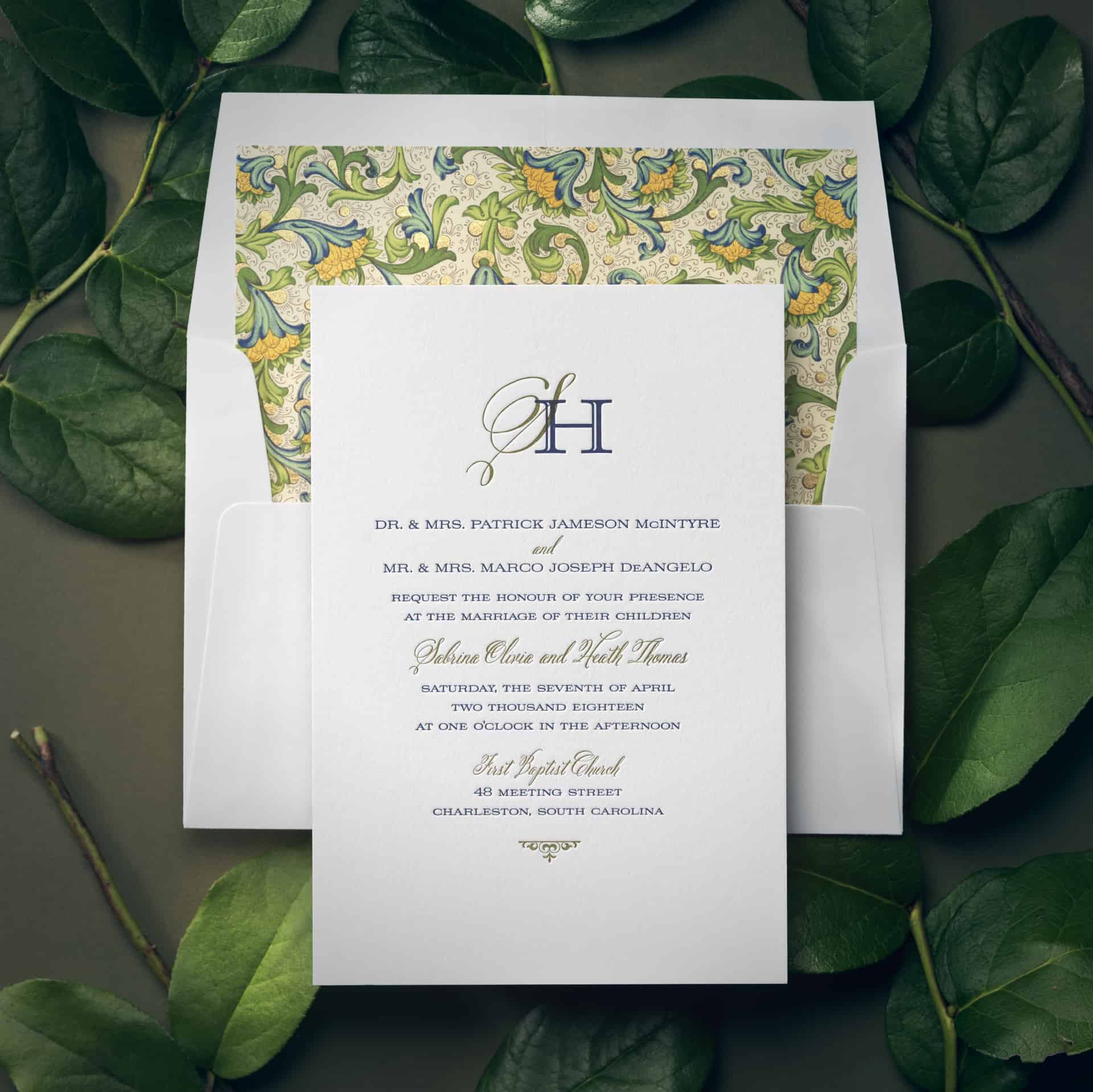Checkerboard Weddings 6 Hyegraph Invitations Calligraphy