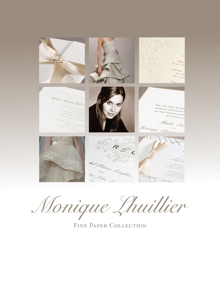 Monique Lhuillier Wedding Invitations