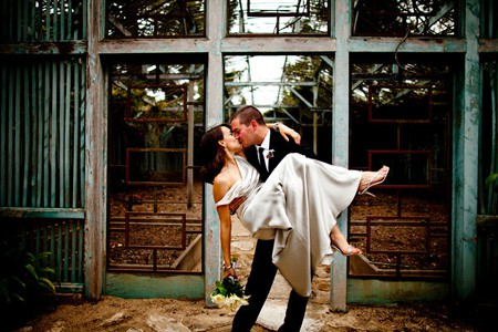 Matthew and Natalie's photo on their wedding day in Montecito, Santa Barbara