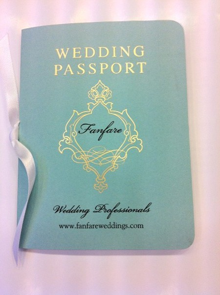 passport wedding invitations and save the date cards