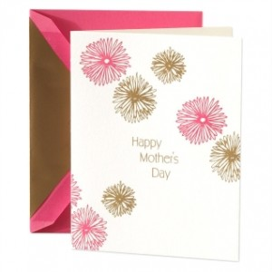 Crane & Co. Letterpress Mother's Day Greeting Card