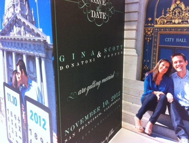 San Francisco city hall save the dates
