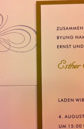 german wedding invitations
