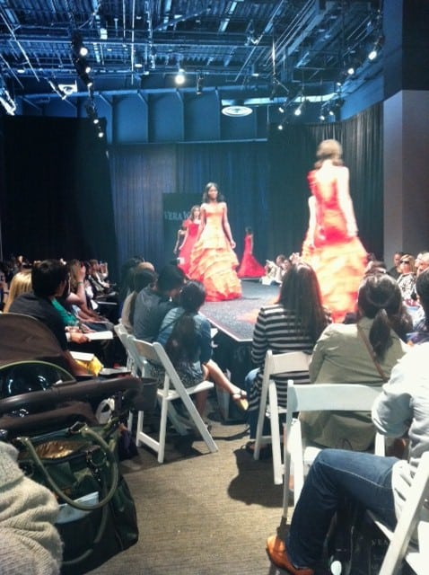 Vera Wang Fashion Show at Unveiled by Bridal Galleria