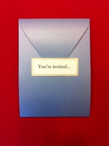 Holiday Pocket Invitation Card