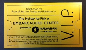 embarcadero center holiday ice rink vip pass