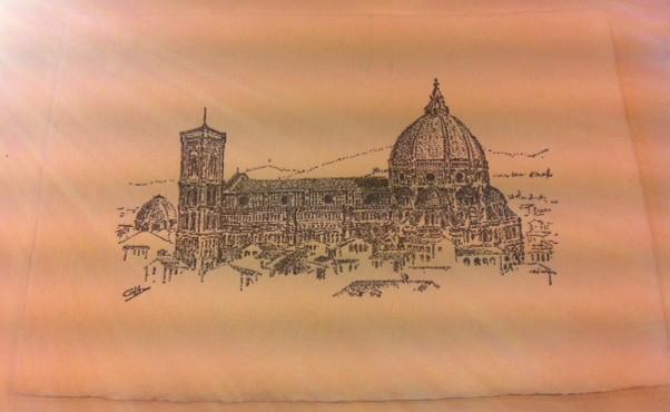 Letterpress printed original artwork design