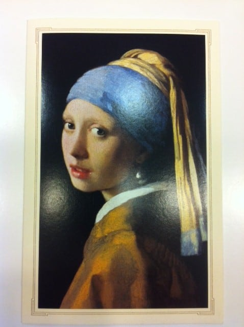 Invitations for Girl With A Pearl Earring Invitation to premiere