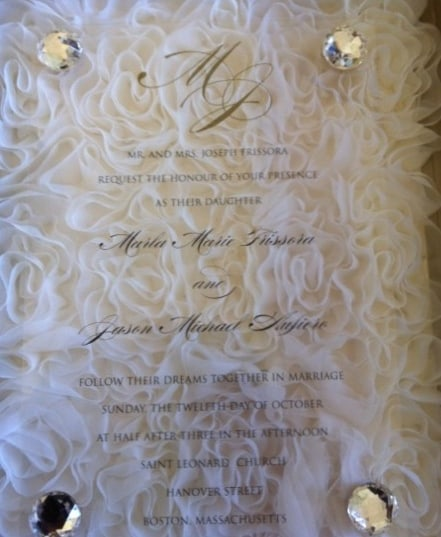 Luxury Wedding Invitation by Natural Impressions at Hyegraph