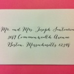 Calligraphy service for boston massachsetts