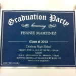 Scroll invitations for graduations