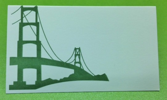 golen_gate_bridge_place_card_green_ink