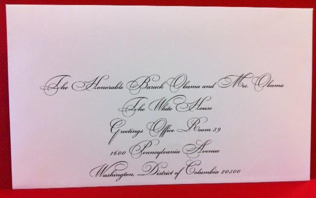 Inviting President Obama