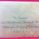 an invitation to the president