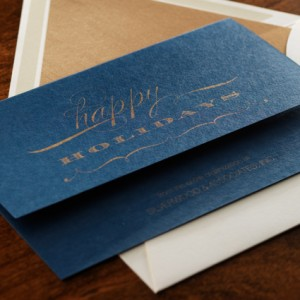 Happy Holidays Business Greeting Card