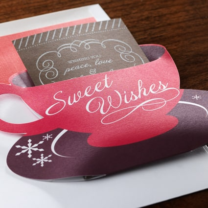Hot Chocolate Holiday Card