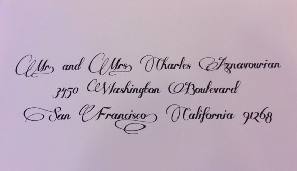 wedding calligraphy font style some weatz swashes