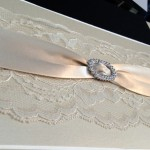 bling wedding invitation