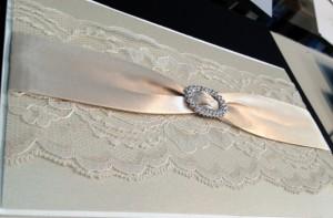 bling wedding invitation
