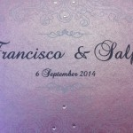 trilingual wedding invitations