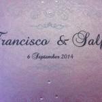 trilingual wedding invitations