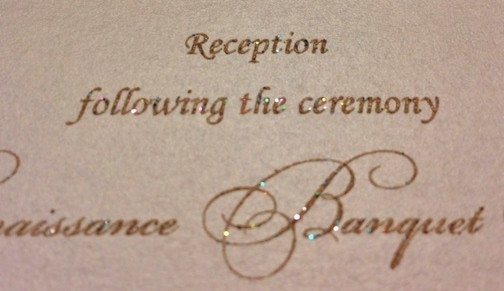 reception_card_sparkle_gold_ink_natural_impression_design_hyegraph_invitations