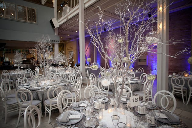 10Glamorous-Winter-Wedding-San-Francisco-Design-Center-Tia-And-Claire-Studio-silver-reception
