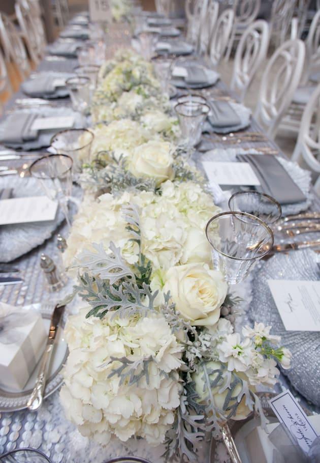 11Glamorous-Winter-Wedding-San-Francisco-Design-Center-Tia-And-Claire-Studio-white-centerpieces-flowers