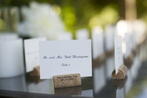 napa valley wedding place cards by hyegraph