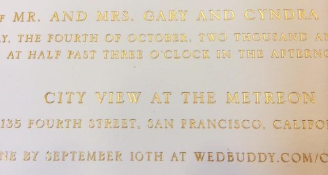 WILLIAM-ARTHUR-WEDDING-INVITATION-GOLD-FOIL-HYEGRAPH-INVITATION-AND-CALLIGRAPHY