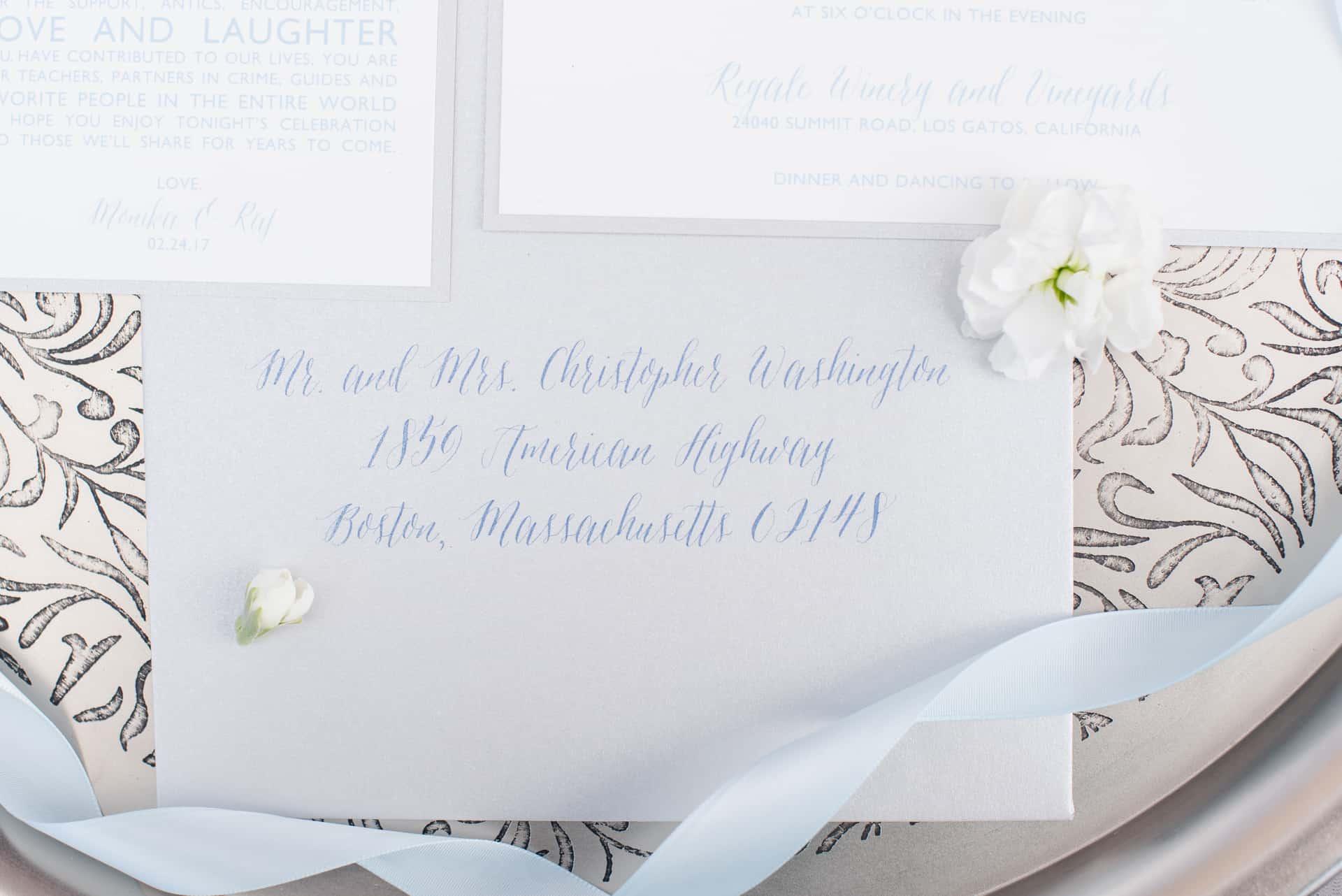 Styled Shoot-Wedding-Envelope-Addressing ...