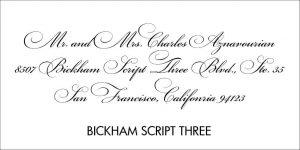 Bickham Script Font Style