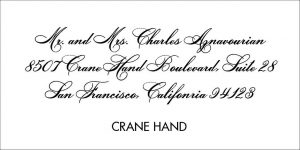 Crane Font Style