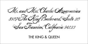 The King and Queen Font Style