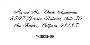 Yorkshire Font Style