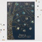 Carlson Craft Holiday Card - Chromatic Snowflakes