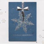 Carlson Craft Holiday Card - Dangling Snowflake