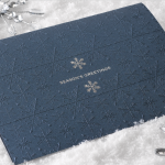 Carlson Craft Holiday Card - Elegant Snowflakes