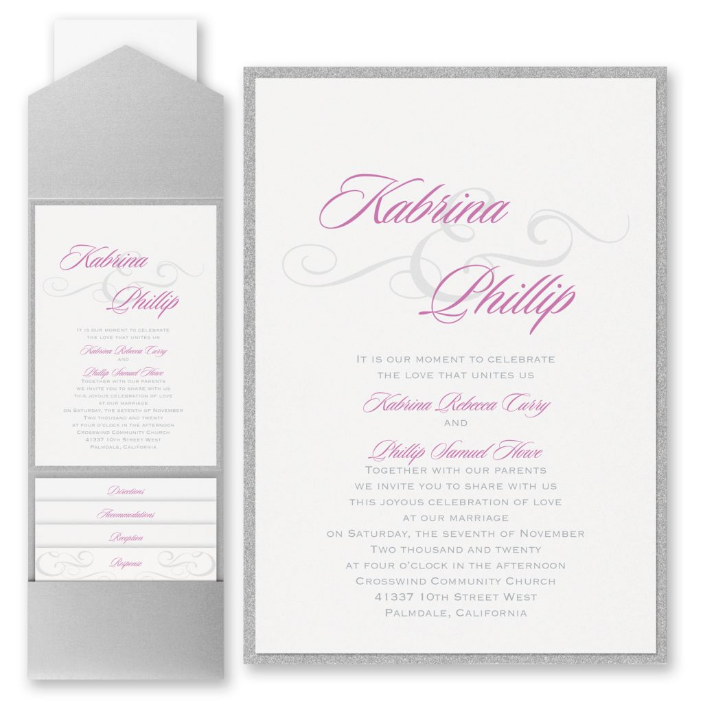 Carlson Craft Wedding Invitations Stationery Hyegraph