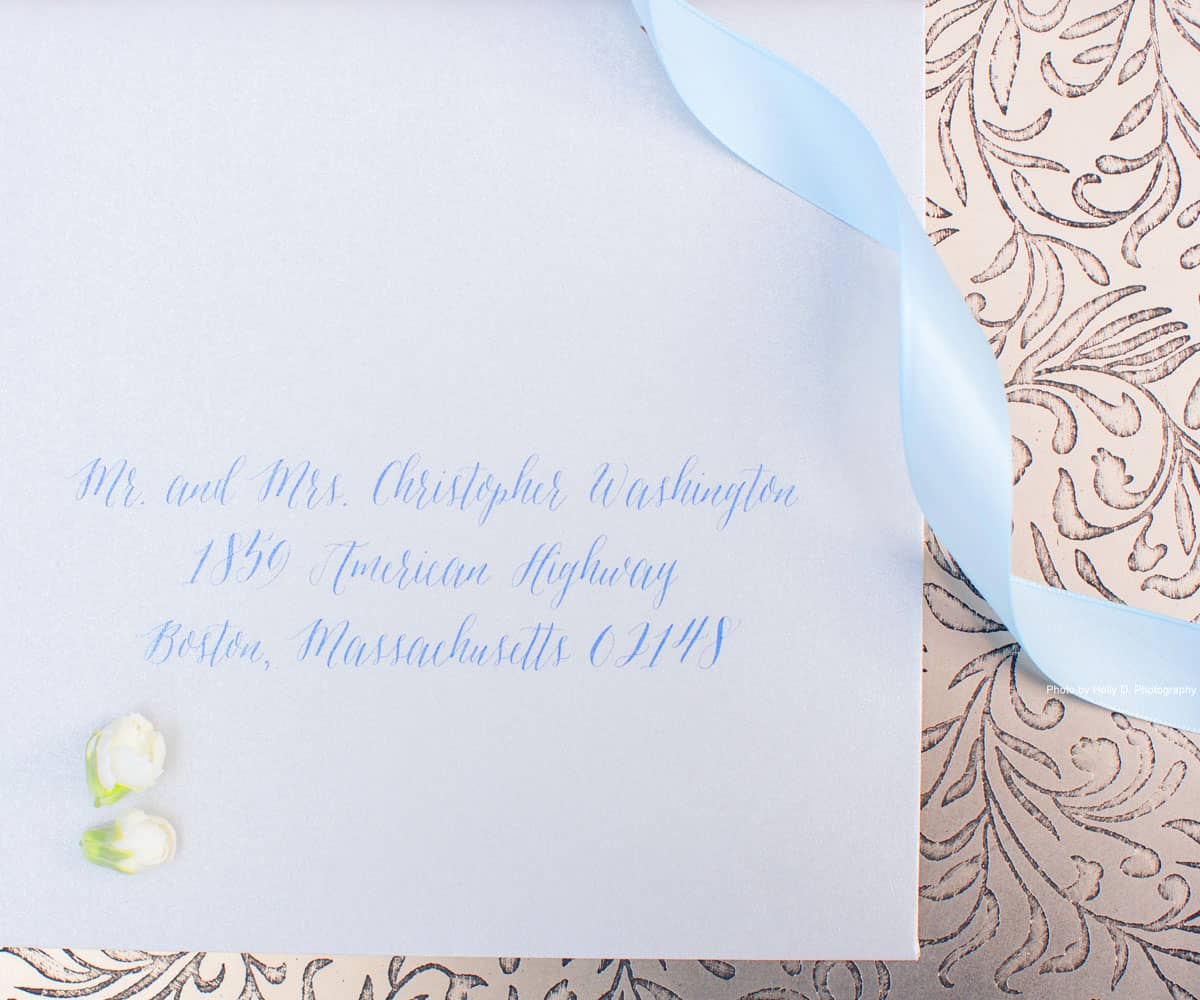 envelope addressing hyegraph invitations calligraphy