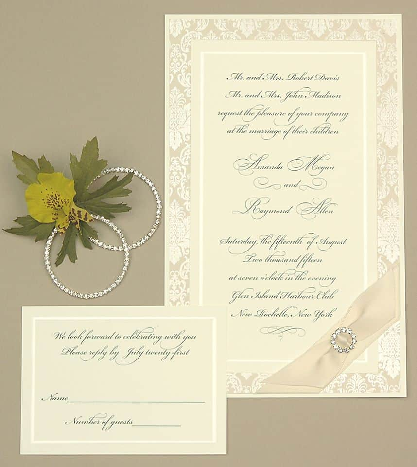 lemon tree wedding invitations stationery hyegraph invitations