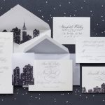 William Arthur Cityscape Wedding Invitation