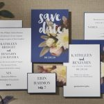 William Arthur Floral Wedding Invitation