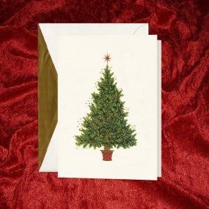 William Arthur Christmas Tree Holiday Card