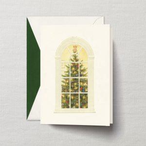 William Arthur Christmas Tree Window Holiday Card
