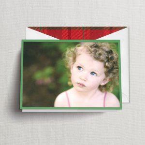 William Arthur Green Border Photo Holiday Cards