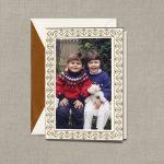 William Arthur Ornate Frame Photo Holiday Cards