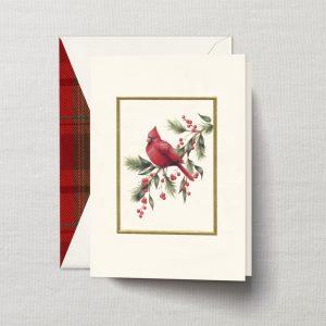 William Arthur Red Cardinal Holiday Card