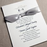 William Arthur Ribbon Wedding Invitation