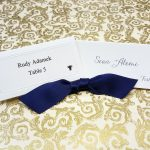 Place Cards with Entrée Choices